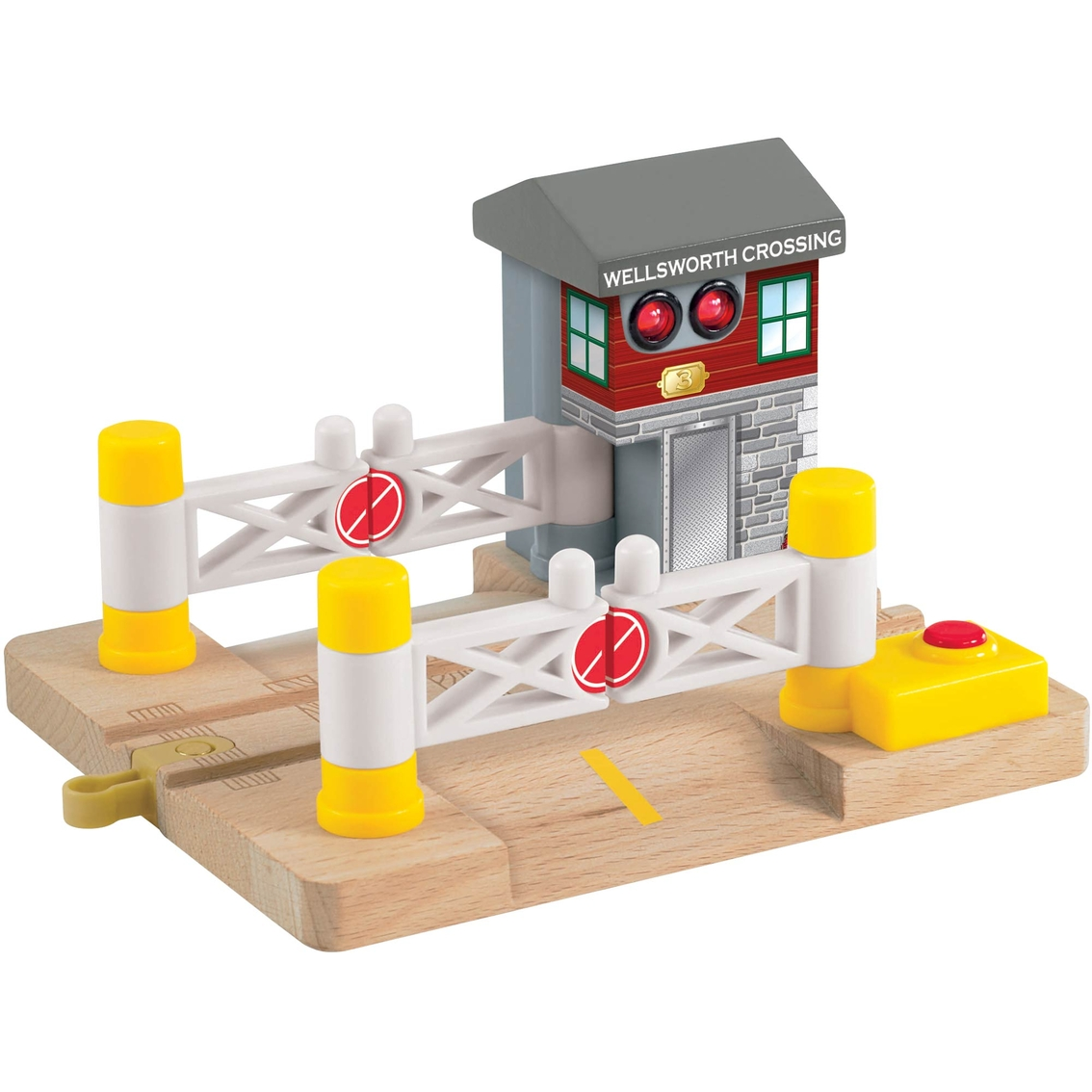 Fisher-price Thomas Wooden Railway Dlx Railroad Crossing
