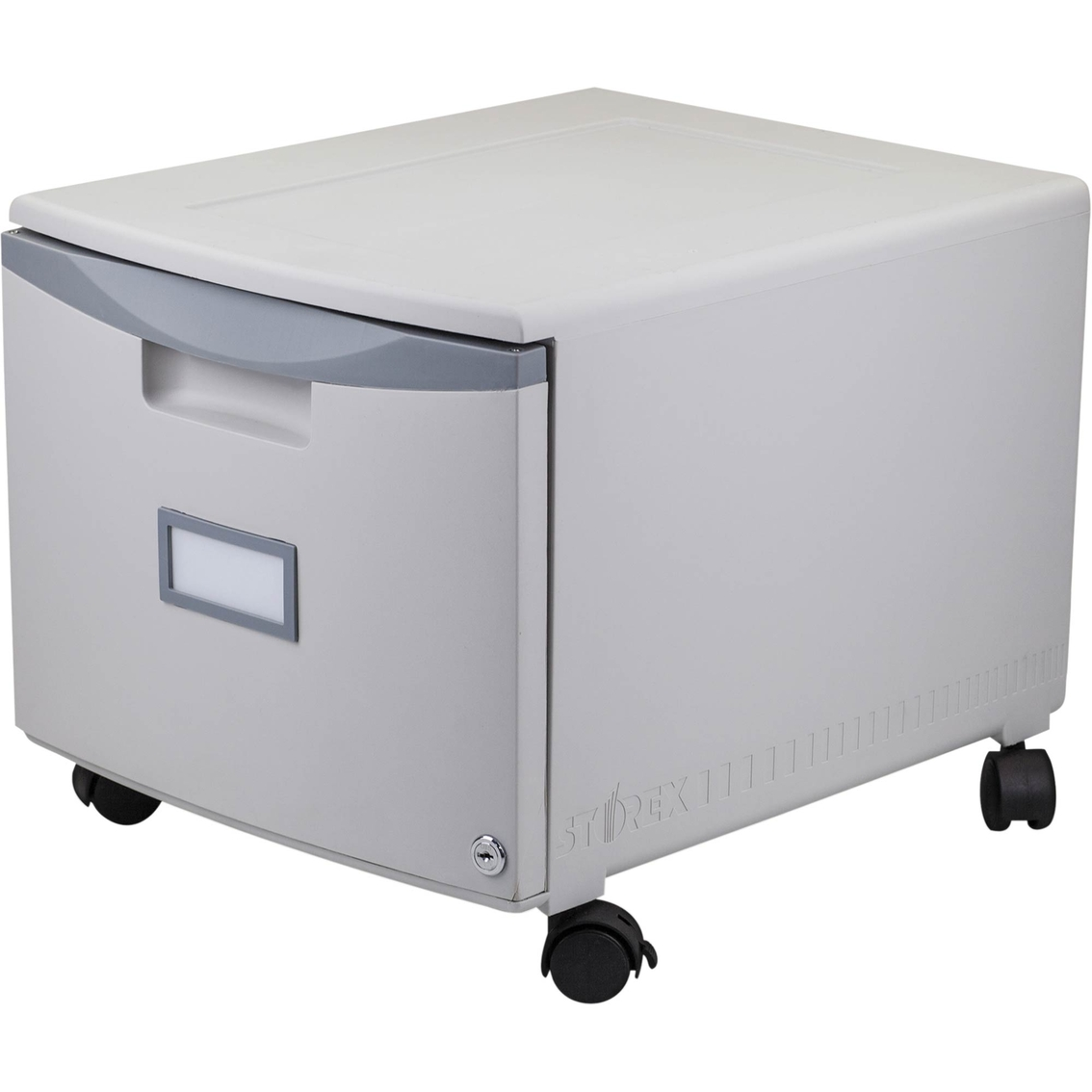Storex Single Drawer Mobile Filing Cabinet File Cabinets