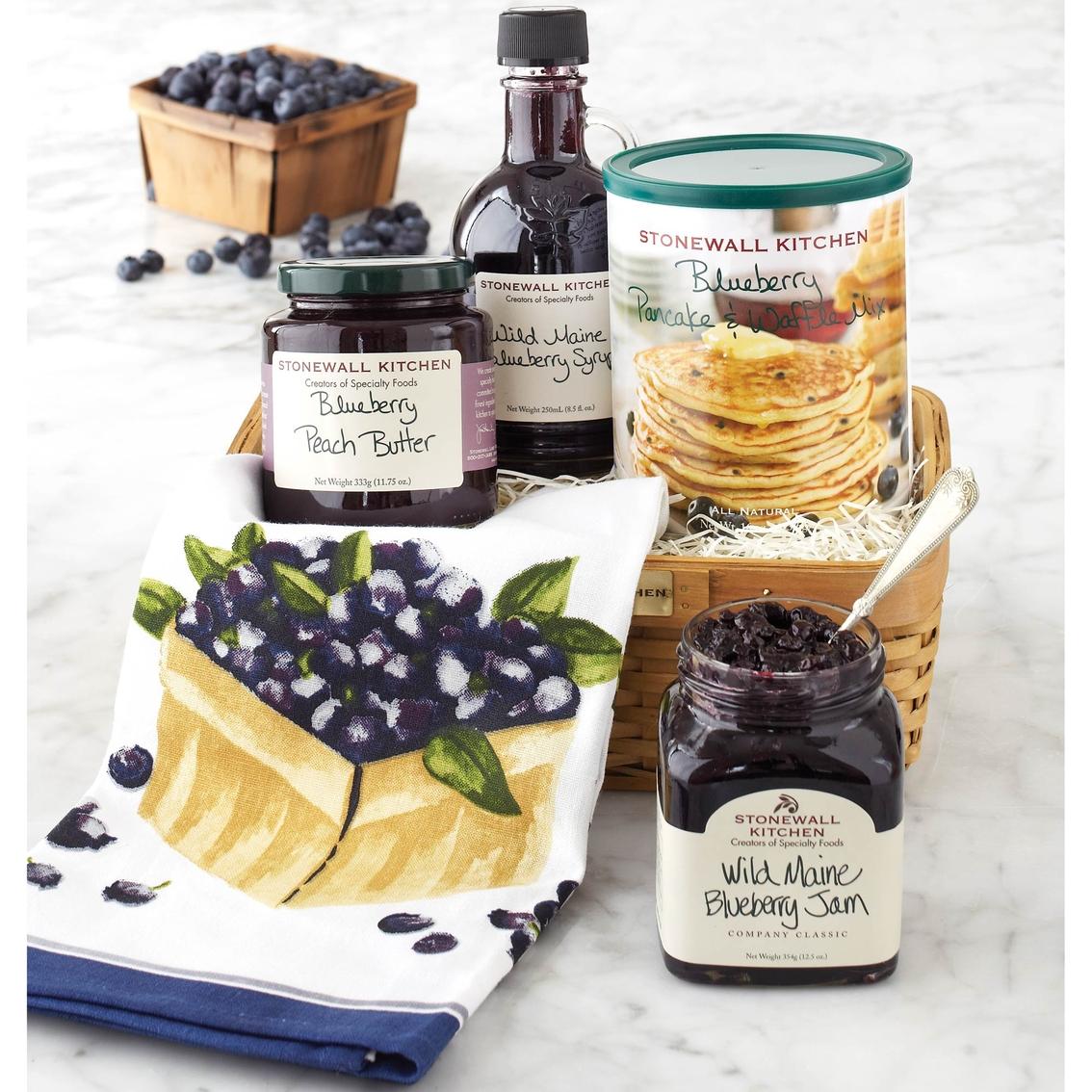 Stonewall Kitchen Blueberry Breakfast Gift Set