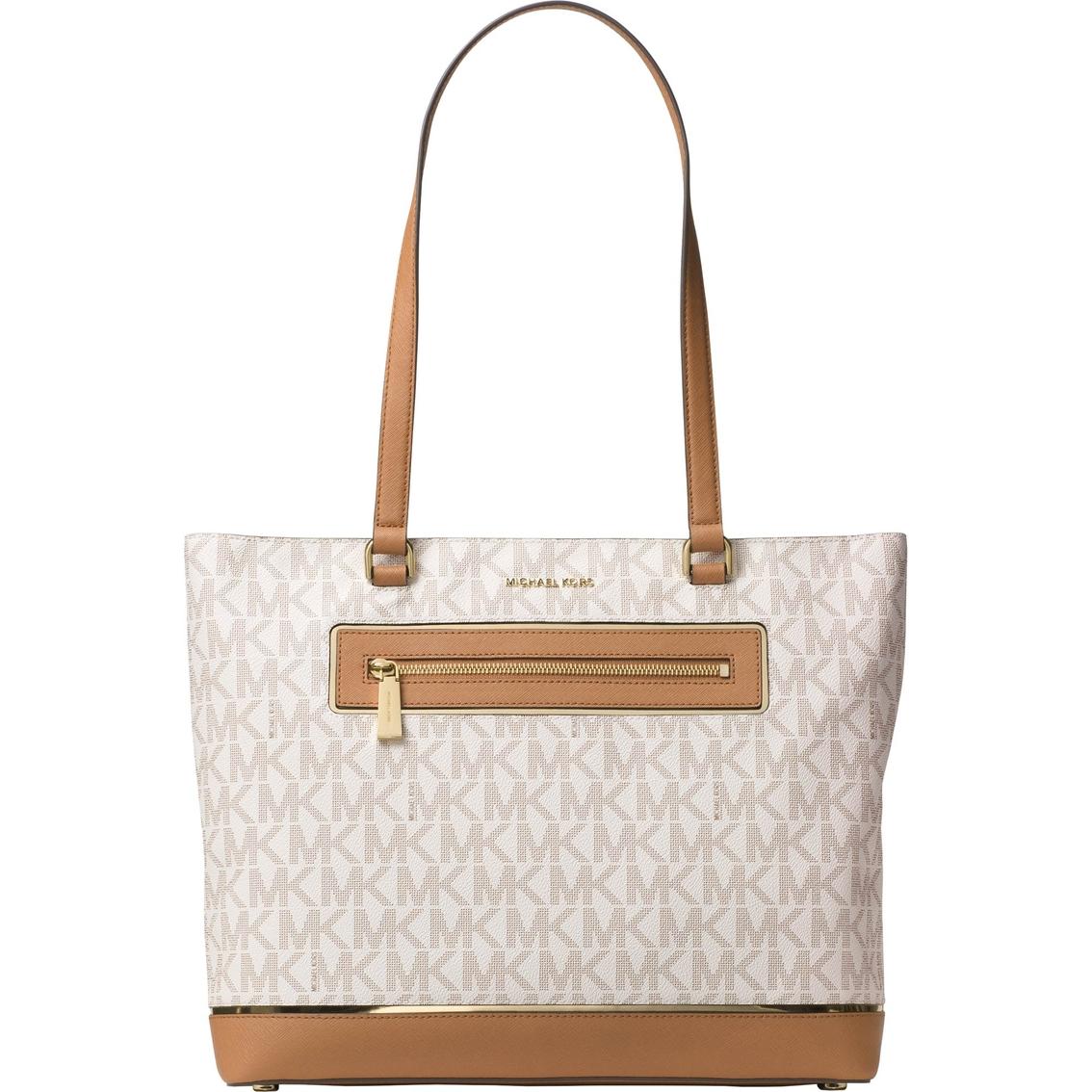 6deb1bd36be5 Michael Kors Frame Out Item Large North South Tote   Handbags   Shop ...