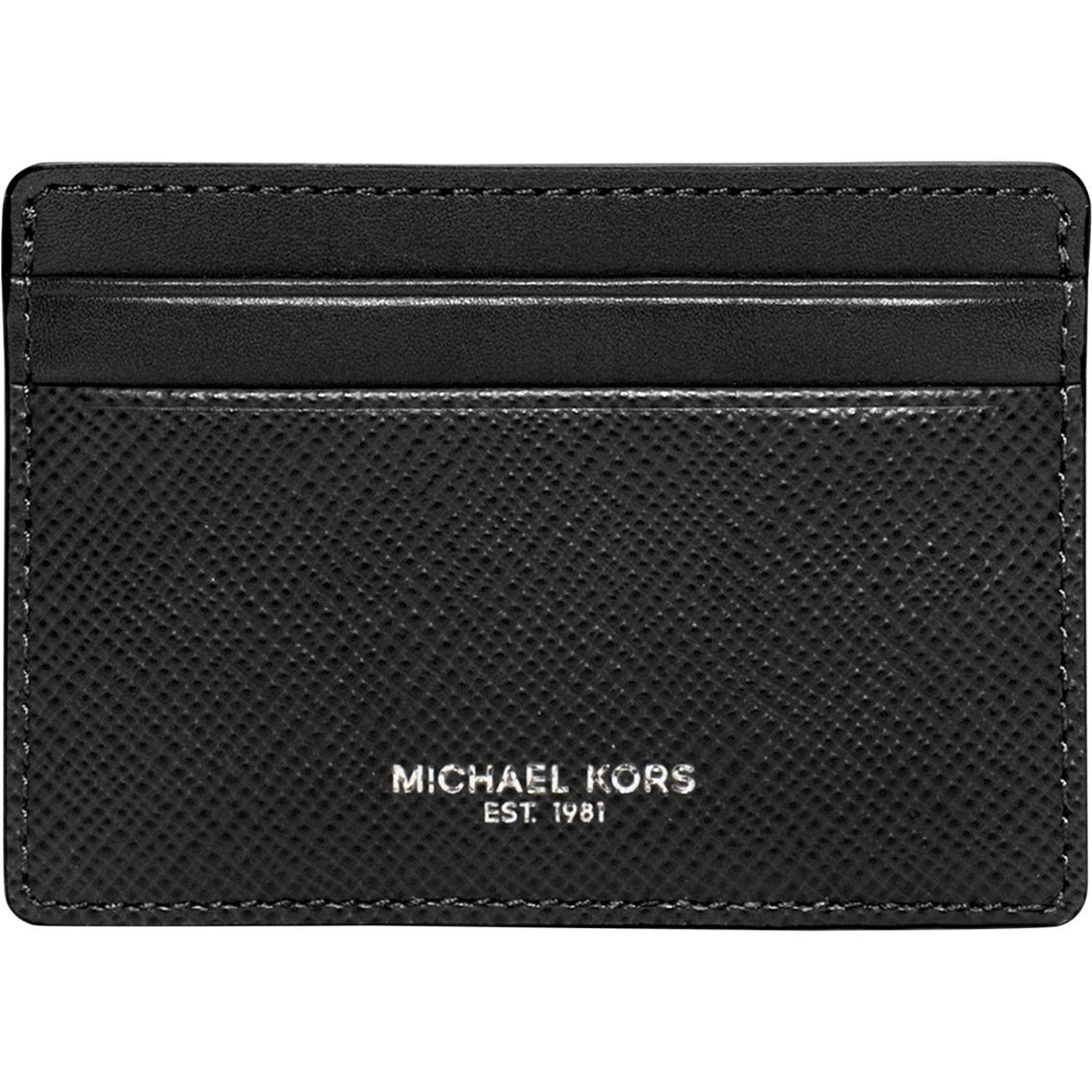 big sale 10f66 f42f5 Michael Kors Harrison Cross Grain Leather Card Case | Handbags ...