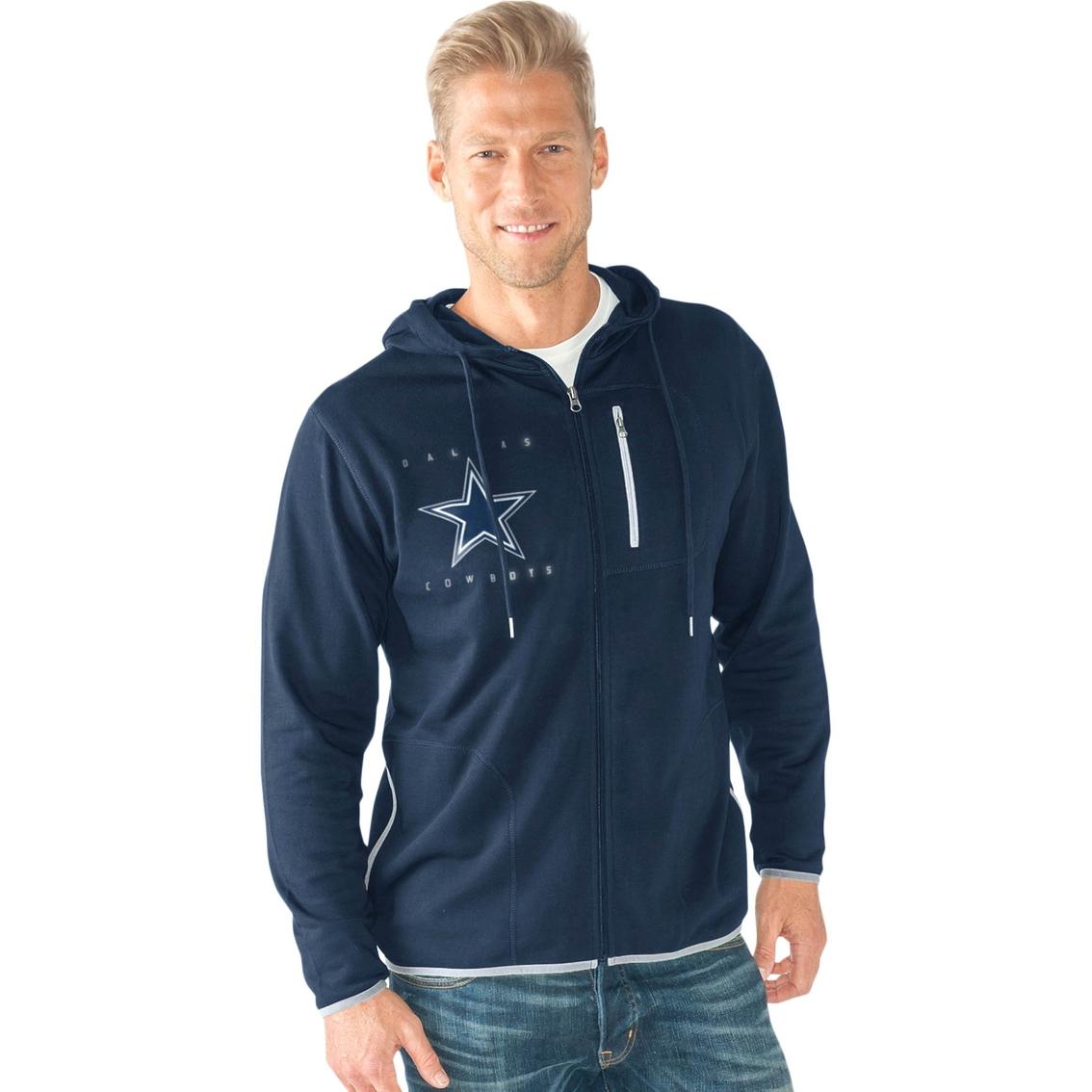 wholesale dealer 4b9fc f8c3c G-III Sports NFL Dallas Cowboys Team Men s Kicker Hoodie
