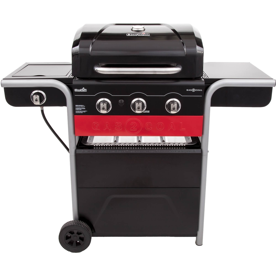 Char Broil Gas2coal Lp Gas Charcoal Combo Grill