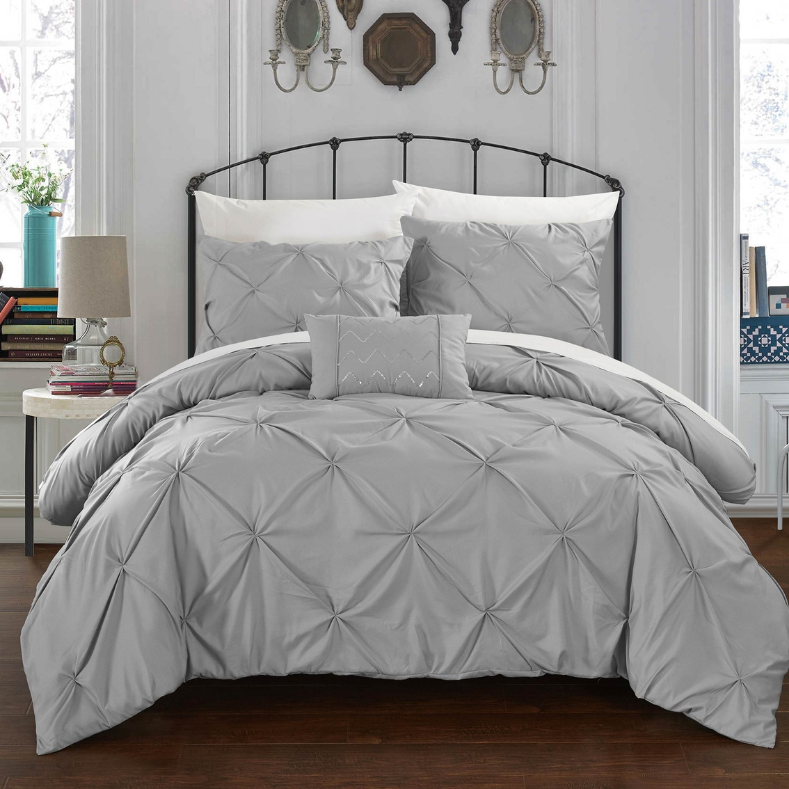 chic home design armi 8 pc. bed in a bag duvet set | duvet covers