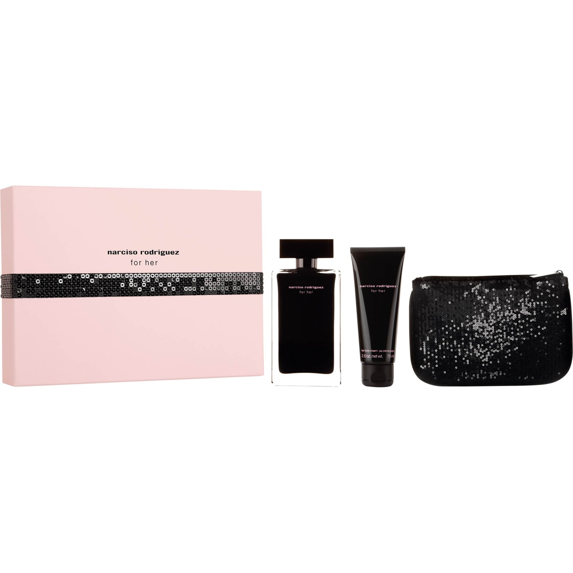 narciso rodriguez for her gift set gifts sets for her beauty health shop the exchange. Black Bedroom Furniture Sets. Home Design Ideas