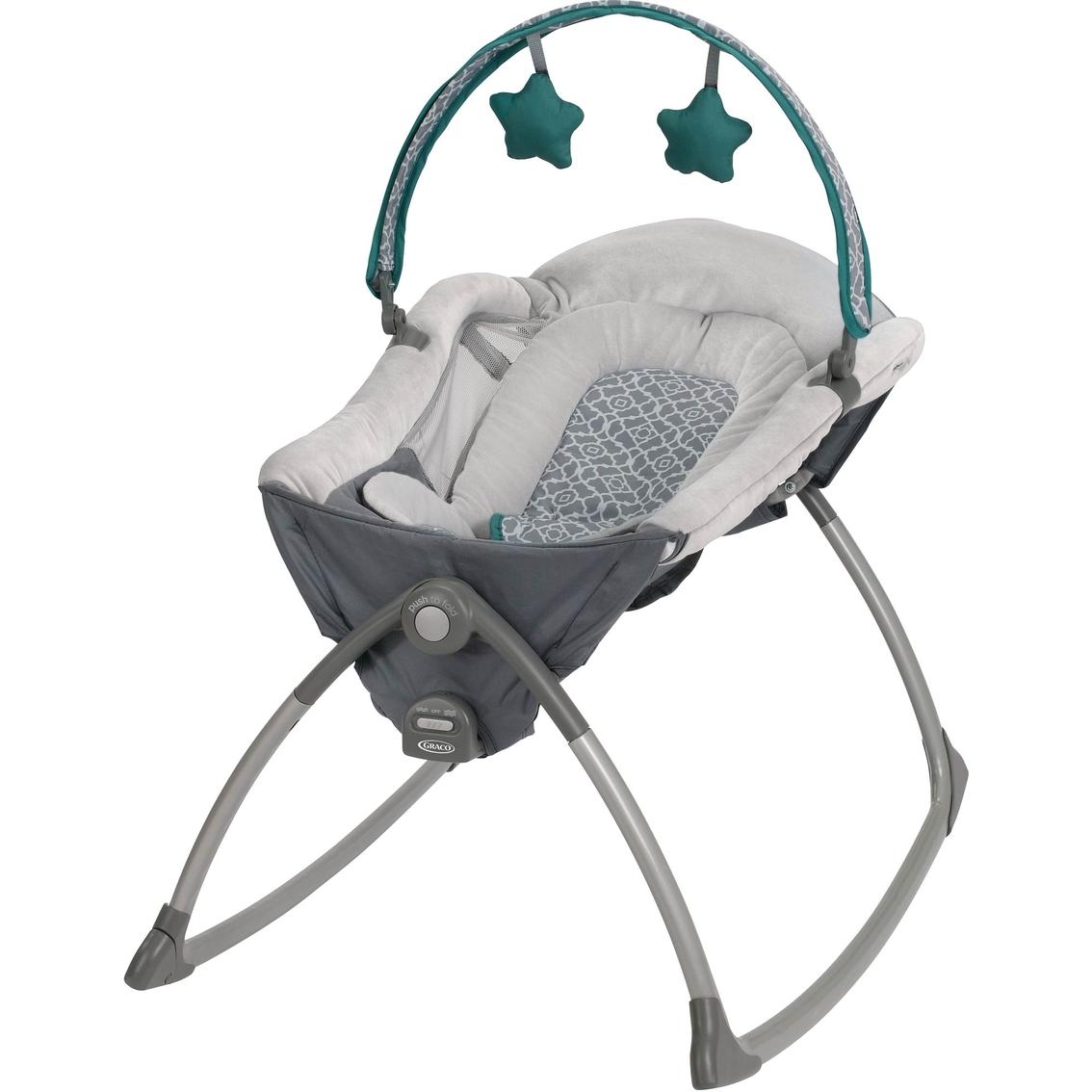 Wondrous Graco Little Lounger Rocking Seat Vibrating Lounger Swings Short Links Chair Design For Home Short Linksinfo
