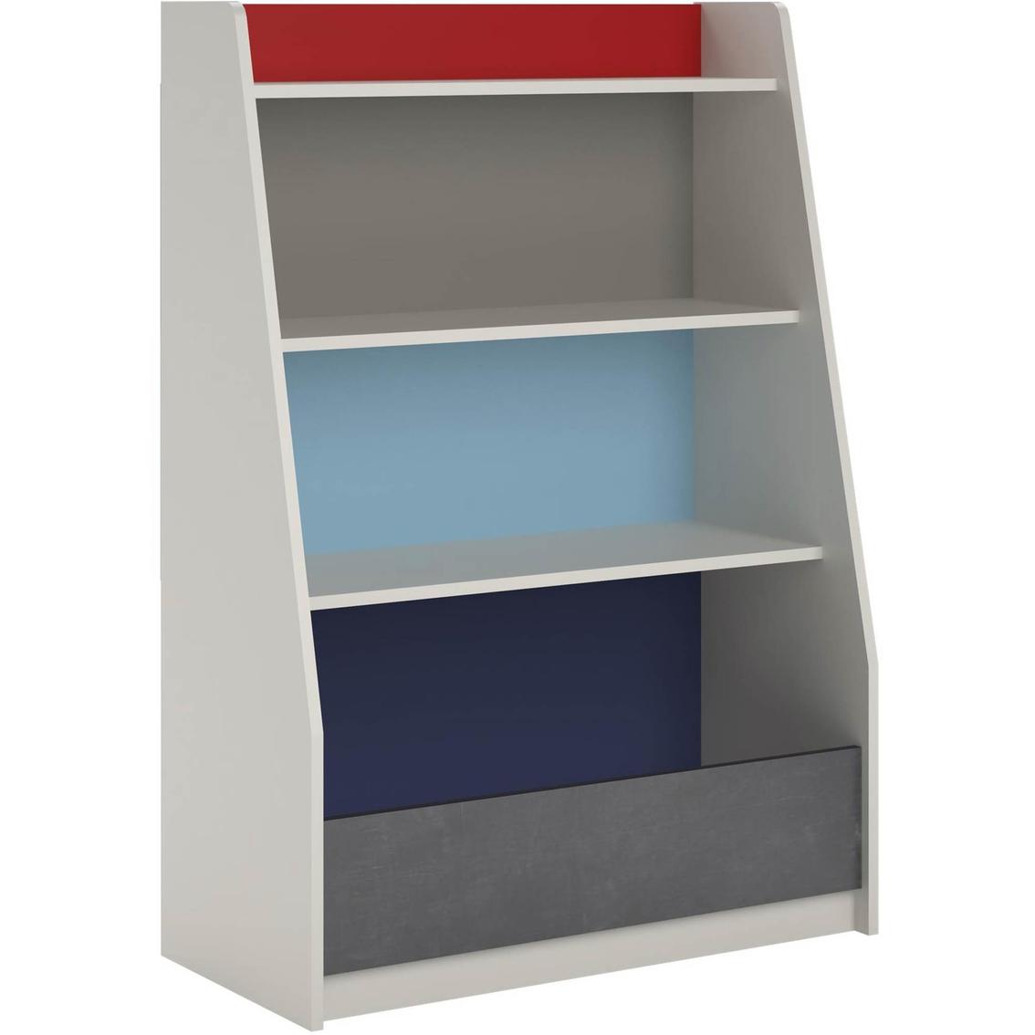 Cosco Kaleidoscope Storage Bookcase Bookcases Cabinets