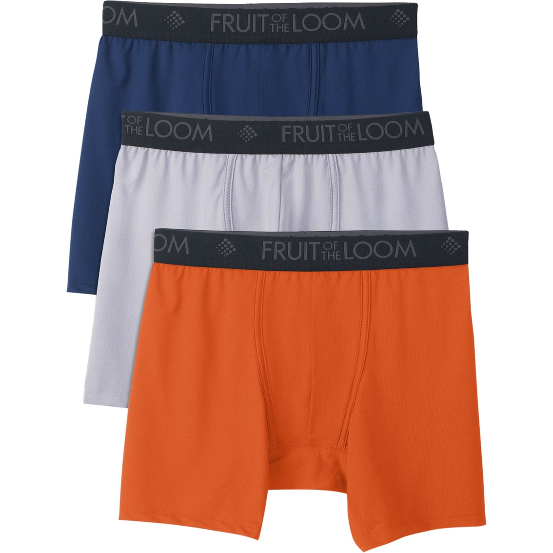 06b9c1474998 Fruit of the Loom Breathable Lightweight Micro Mesh Short Leg Boxer Brief 3  pk.