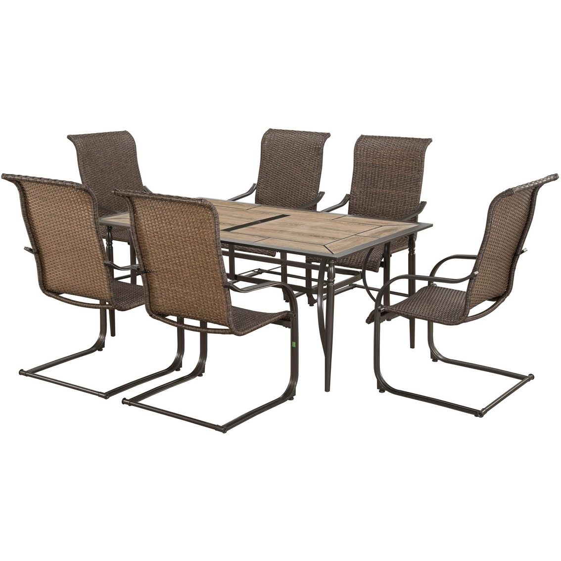 Courtyard Creations Pinehurst 7 Pc. Dining Set