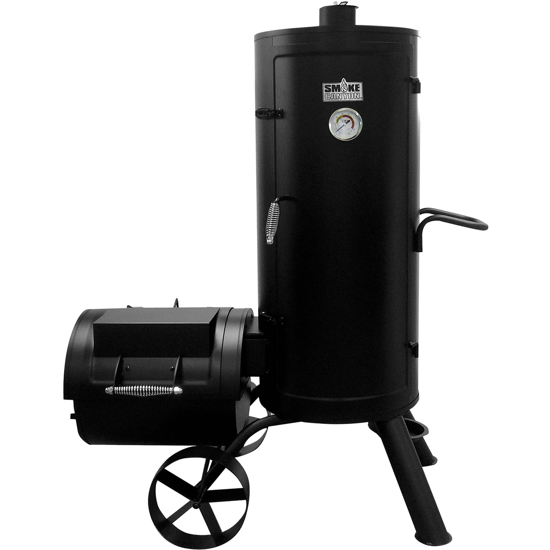 Smoke Canyon Vertical Smoker With Offset Firebox Smokers