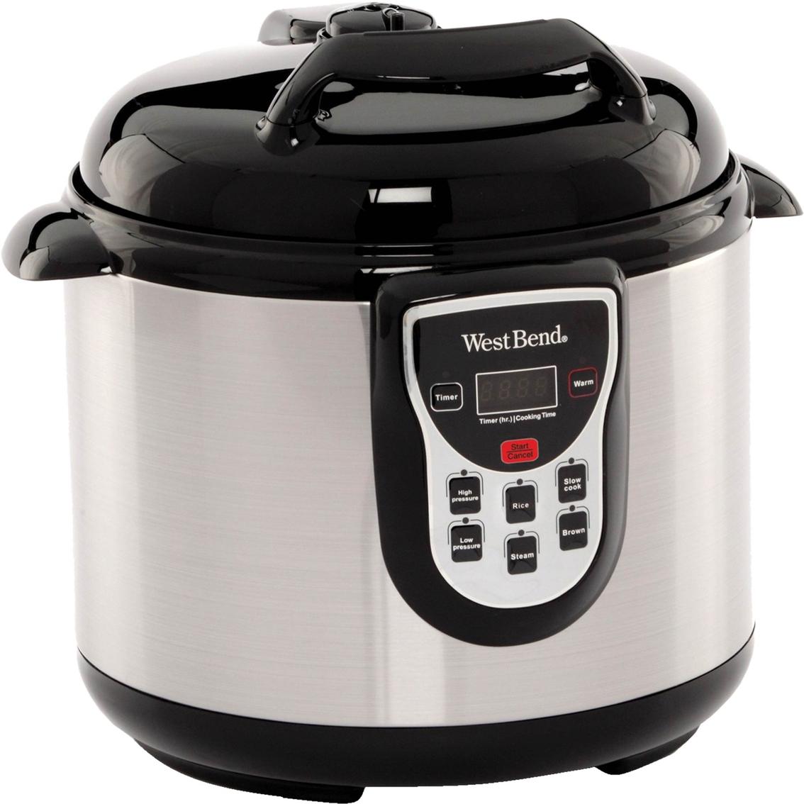 Uncategorized West Bend Kitchen Appliances west bend 6 qt electric pressure cooker cookers home cooker