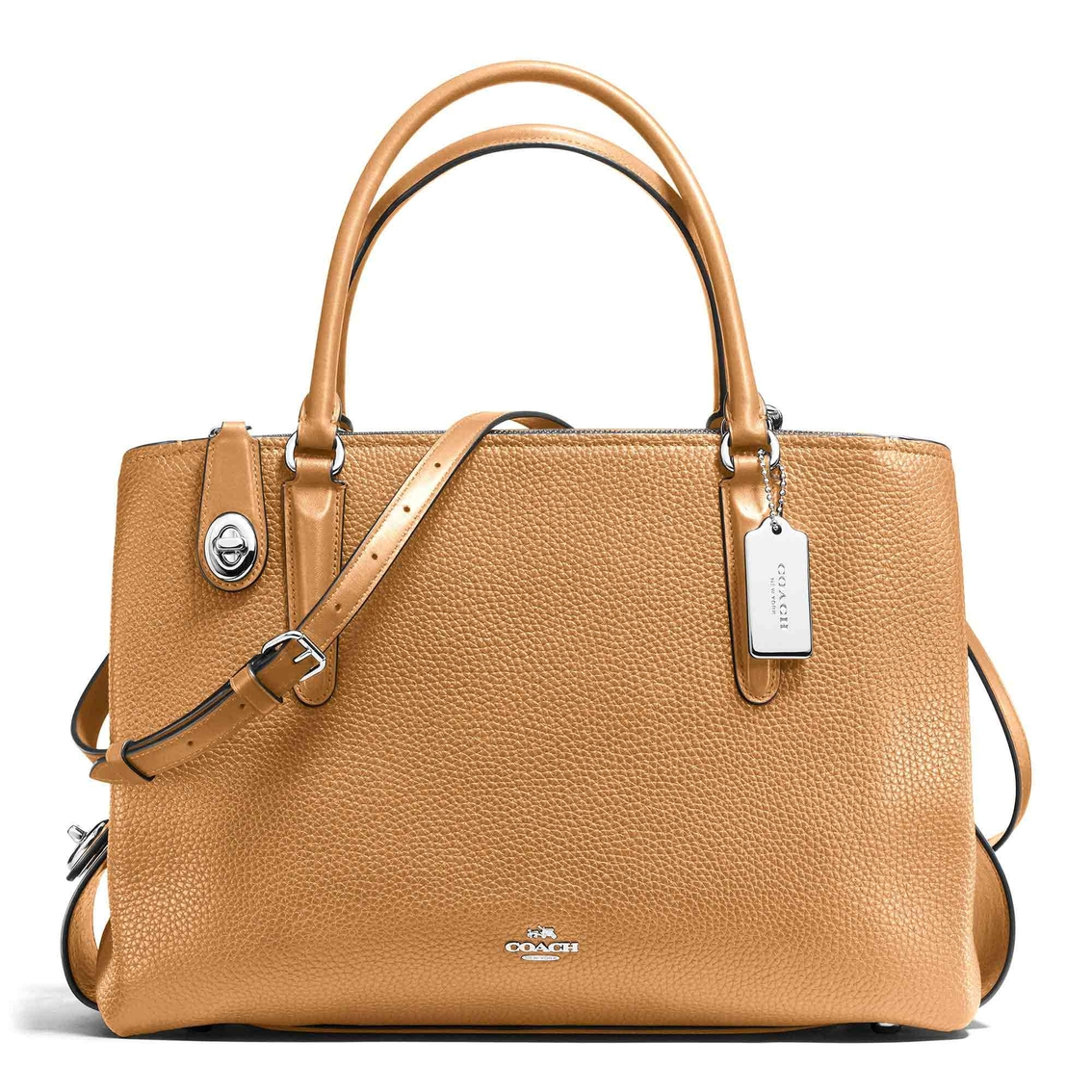 Coach Brooklyn Carryall 34 In. Pebble Leather  9503d0f0c36fc