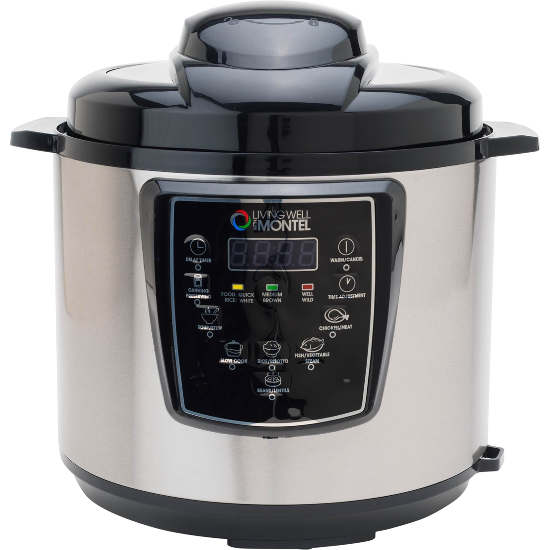 Living Well With Montel 6 Qt. Pressure Cooker | Pressure Cookers ...