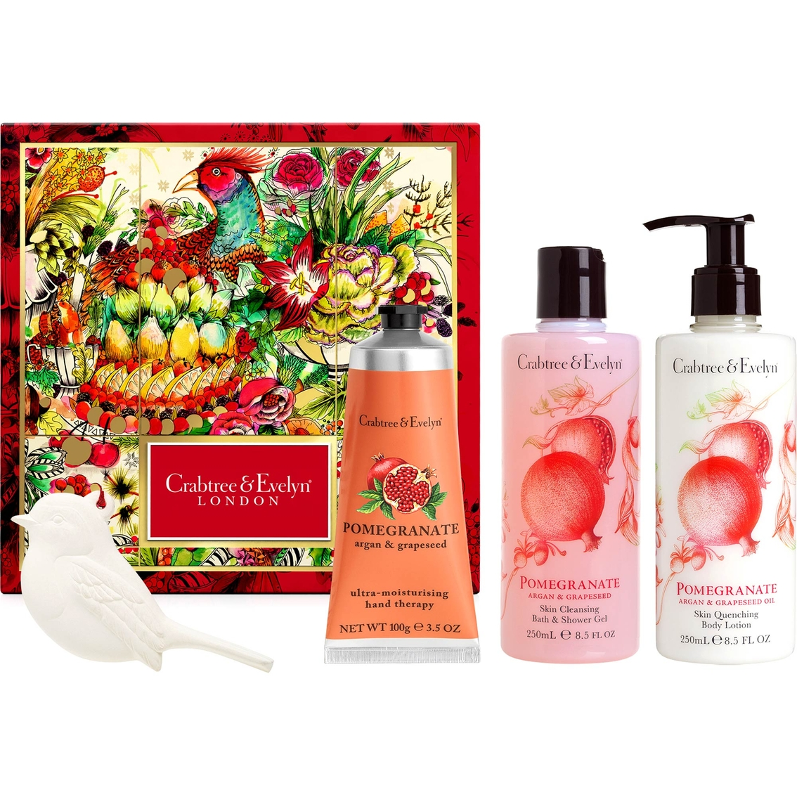 crabtree evelyn pomegranate argan and grapeseed deluxe gift set crabtree and evelyn. Black Bedroom Furniture Sets. Home Design Ideas
