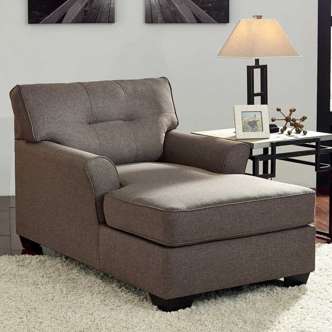 Signature Design By Ashley Tibbee Chaise Sofas Amp Couches