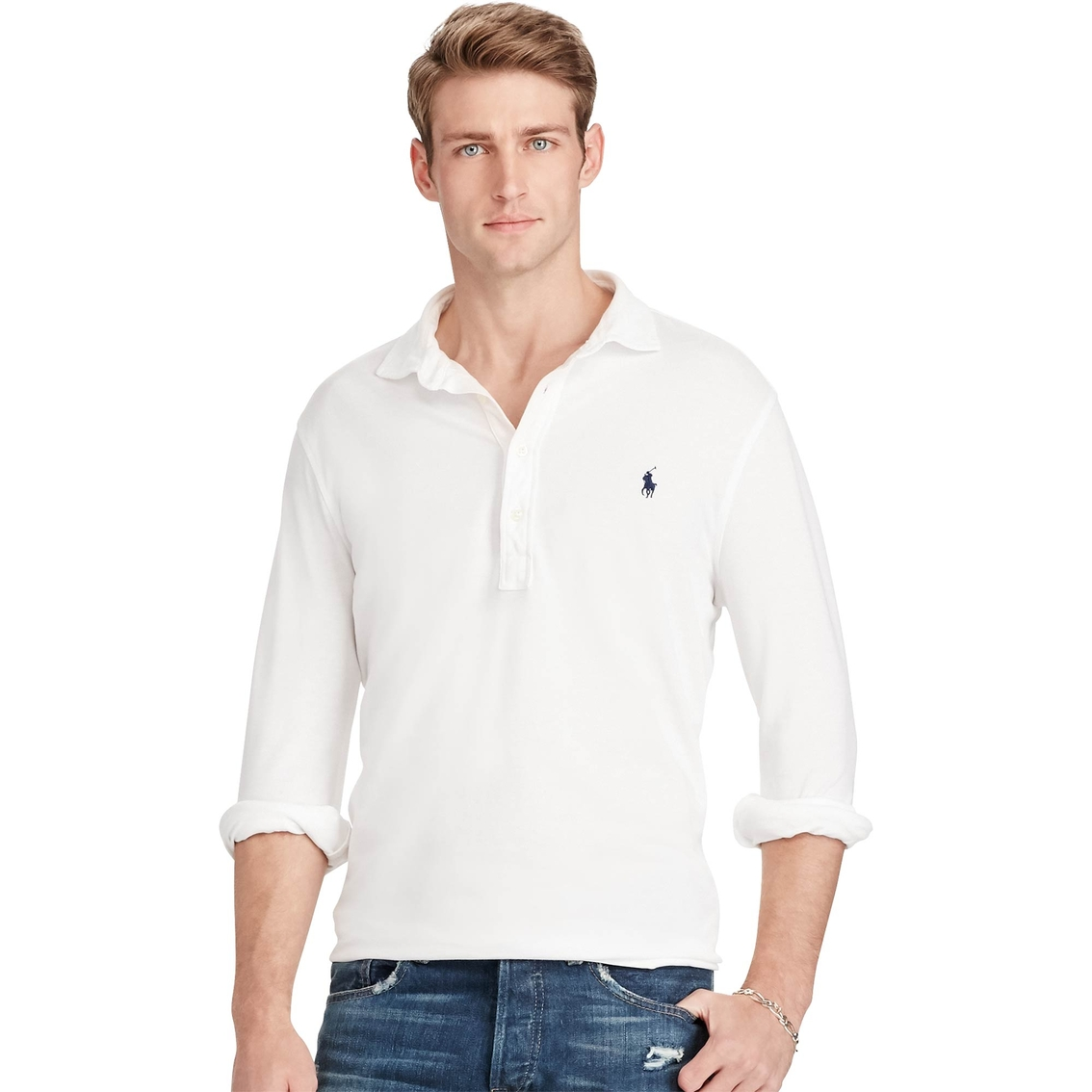 Polo Ralph Lauren Custom Fit Featherweight Polo Shirt Polo Ralph