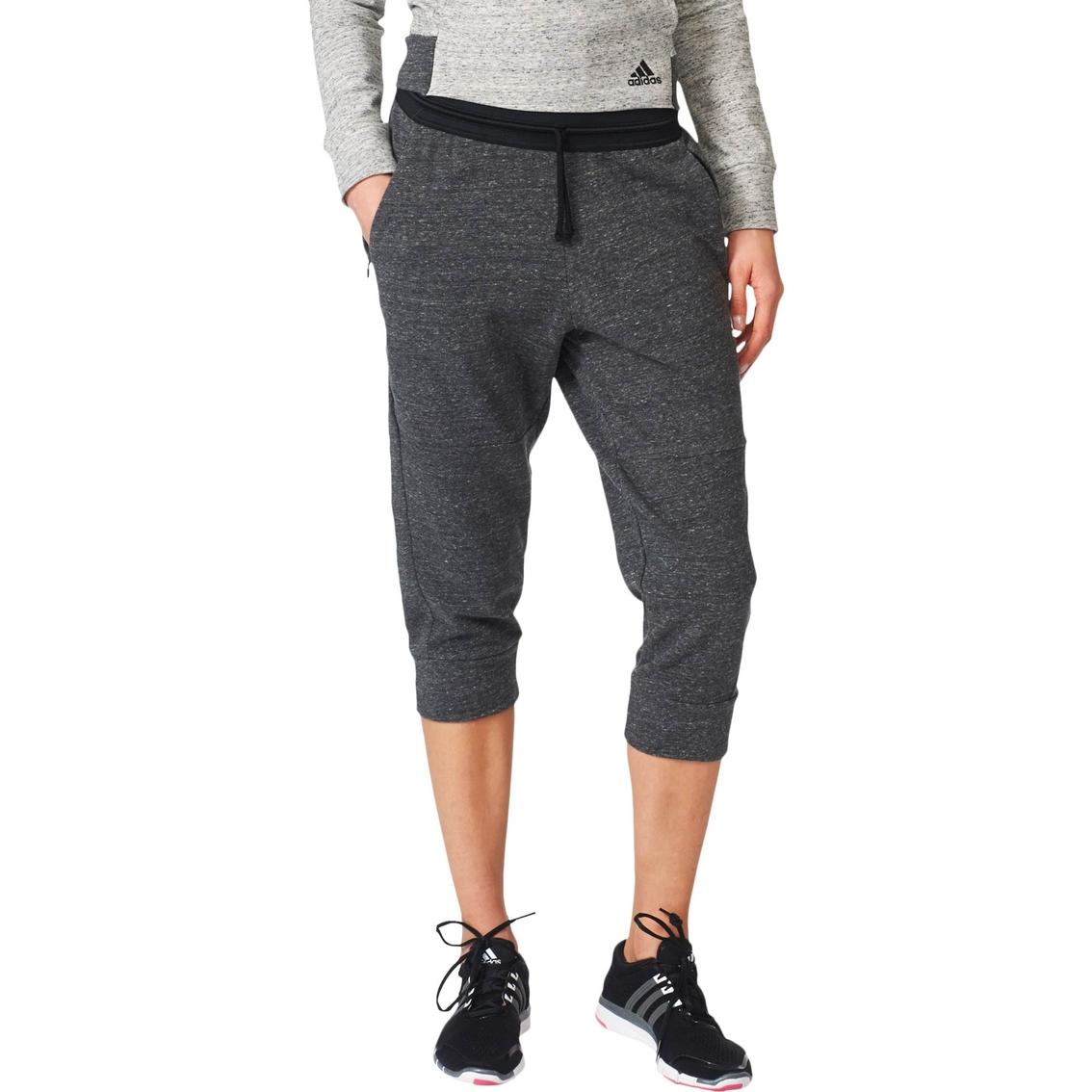 9abdcb5c702 Adidas Cotton Fleece Three Quarter Pants | Pants & Capris | Apparel ...