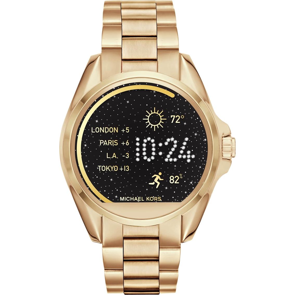 f9259a459857 Michael Kors Access Women s Bradshaw Display Smart Watch 44.5MM MKT500