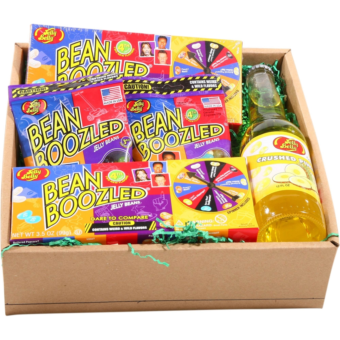 Alder Creek Gift Baskets Ultimate Jelly Belly Beanboozled Fun Gift Box