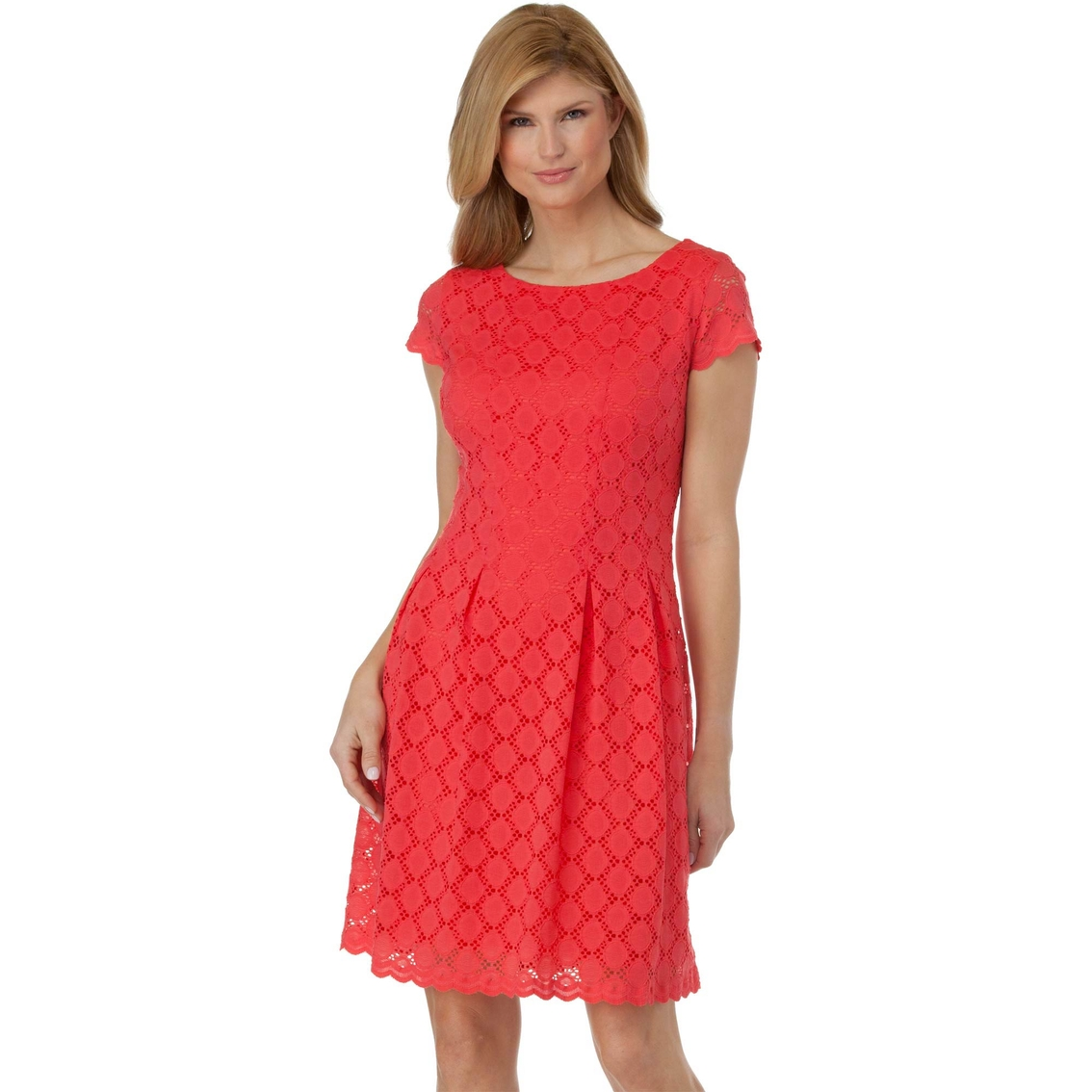 Ronni Nicole Lace Fit And Flare Dress Dresses Apparel
