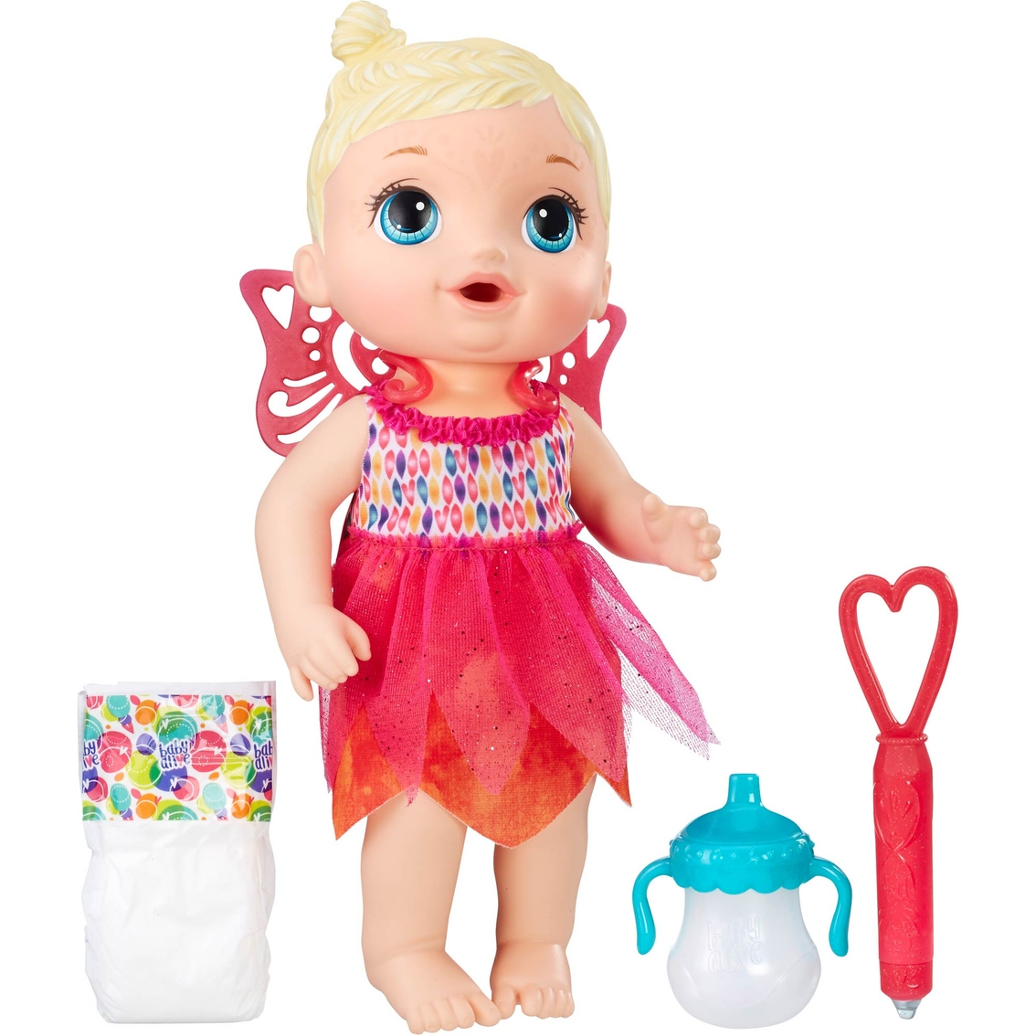 697705fd1 Baby Alive Face Paint Fairy Doll
