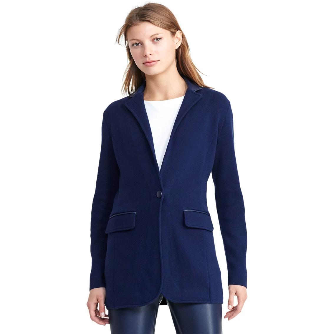 f5517df40 Lauren Ralph Lauren Aldorsha Single Button Sweater Jacket | Lauren ...