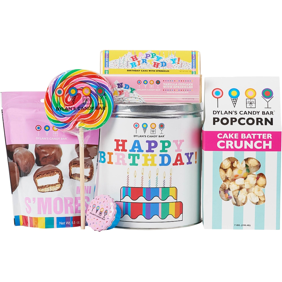 Dylan's Candy Bar Happy Birthday Basket