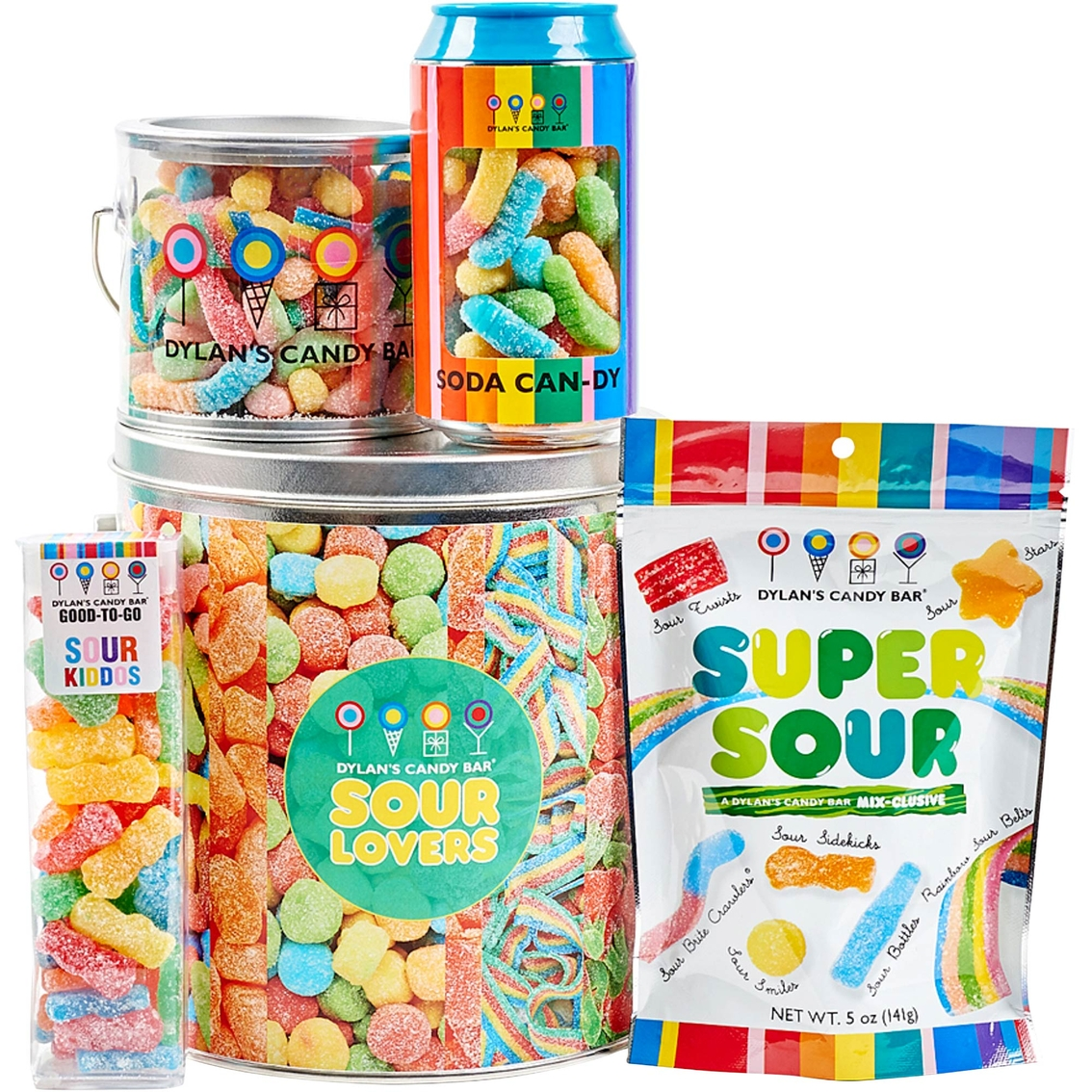 dylan s candy bar sour lovers bucket sweets chocolate gifts