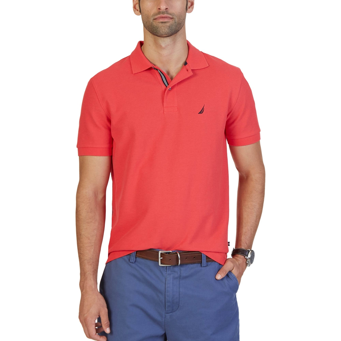 nautica classic fit performance deck polo shirt polos