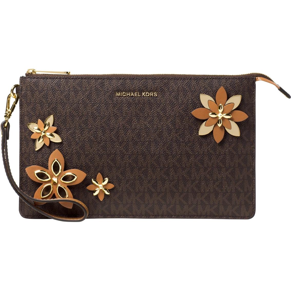 5941e8b0e3a2 Michael Kors Flowers Daniela Large Wristlet   Handbags   Shop The ...