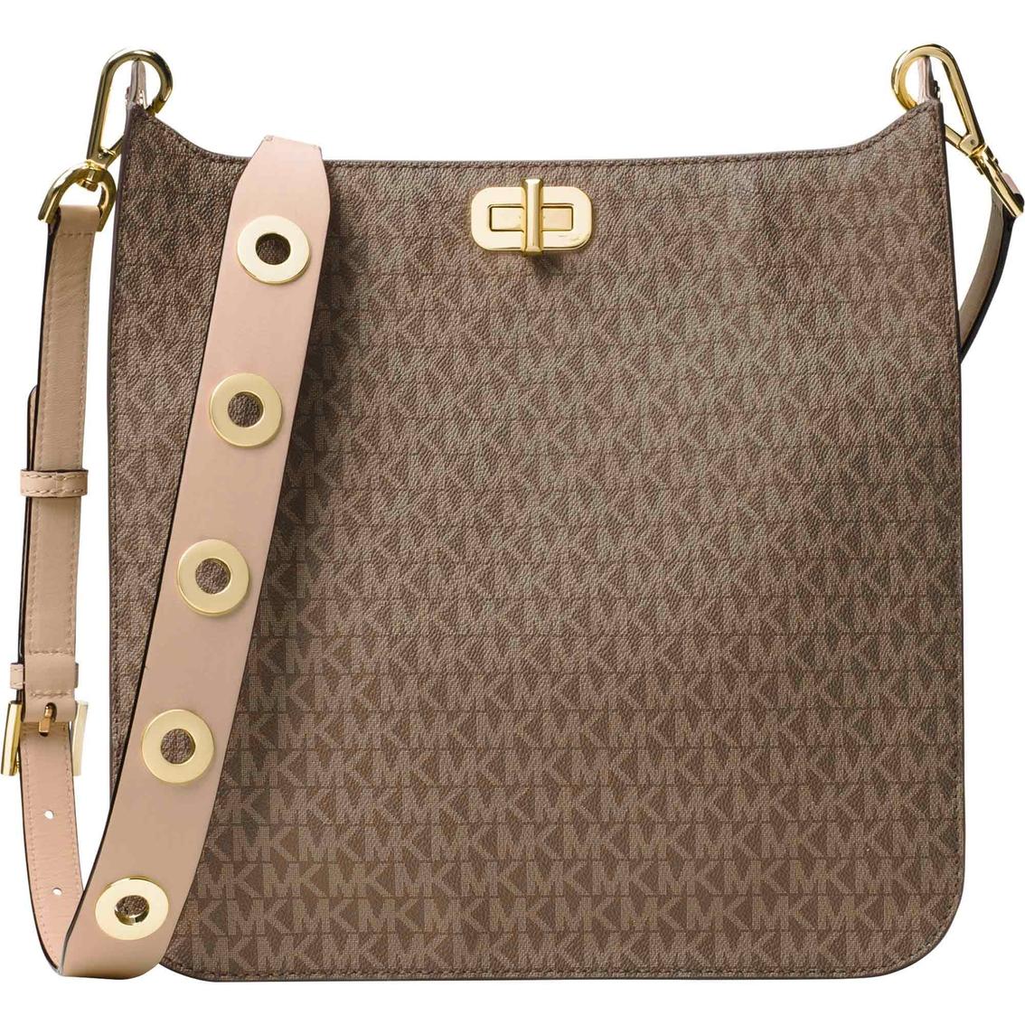 7a2a3eadf25f Michael Kors Sullivan Large North South Messenger Handbag