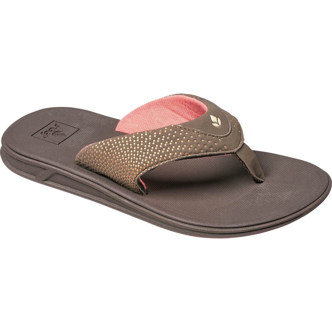 d4128edd51a1 Reef Rover Women s Faux Leather Nubuck Sandal