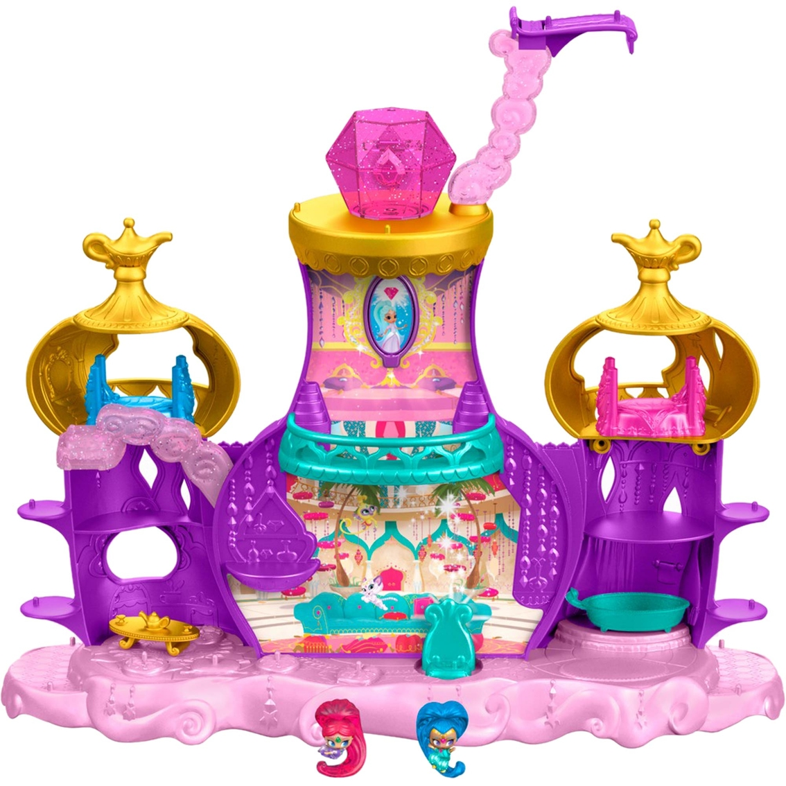 Fisher Price Shimmer And Shine Teenie Genies Floating Genie Palace Playset