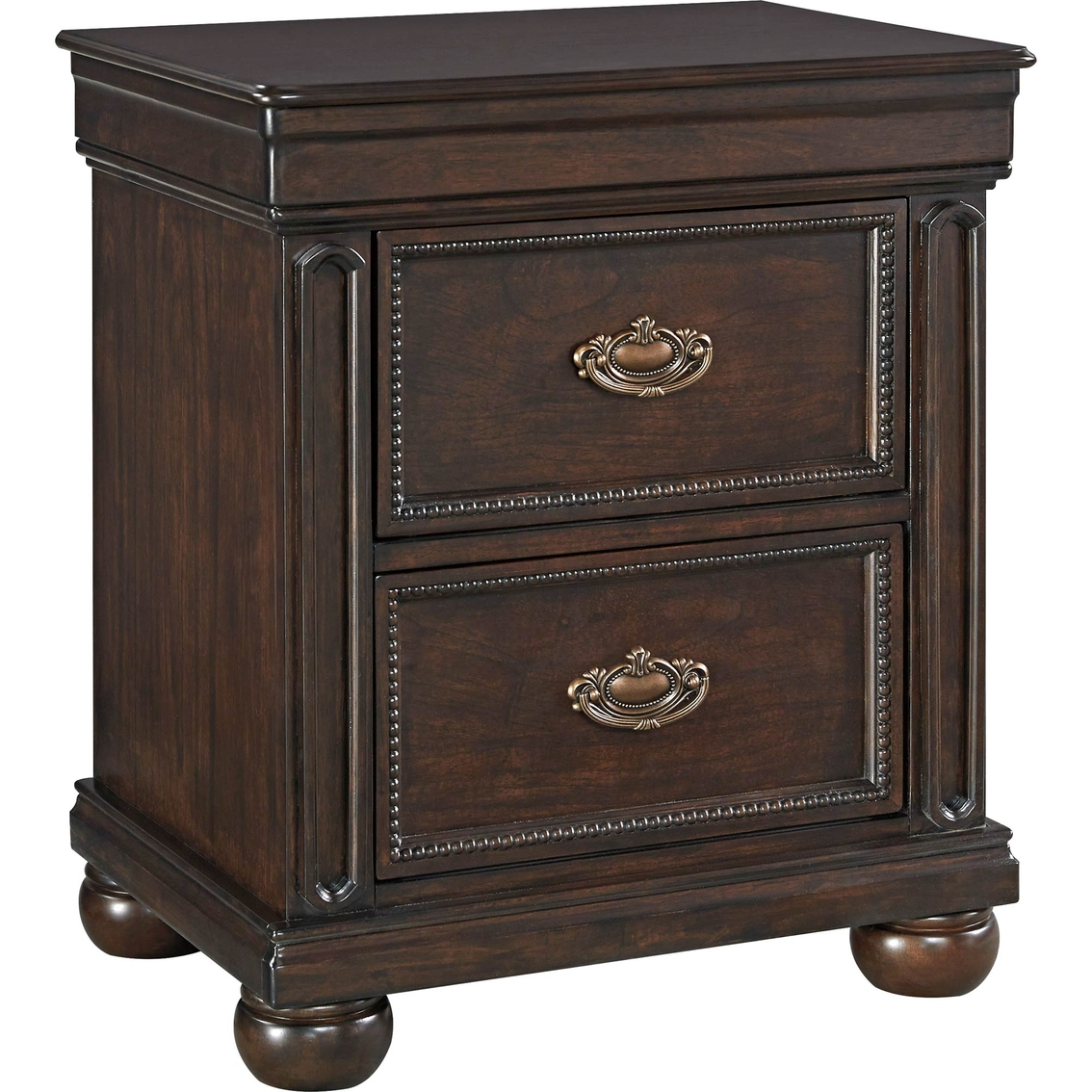 Signature Design By Ashley Moluxy 2 Drawer Nightstand Nightstands Home Appliances Shop
