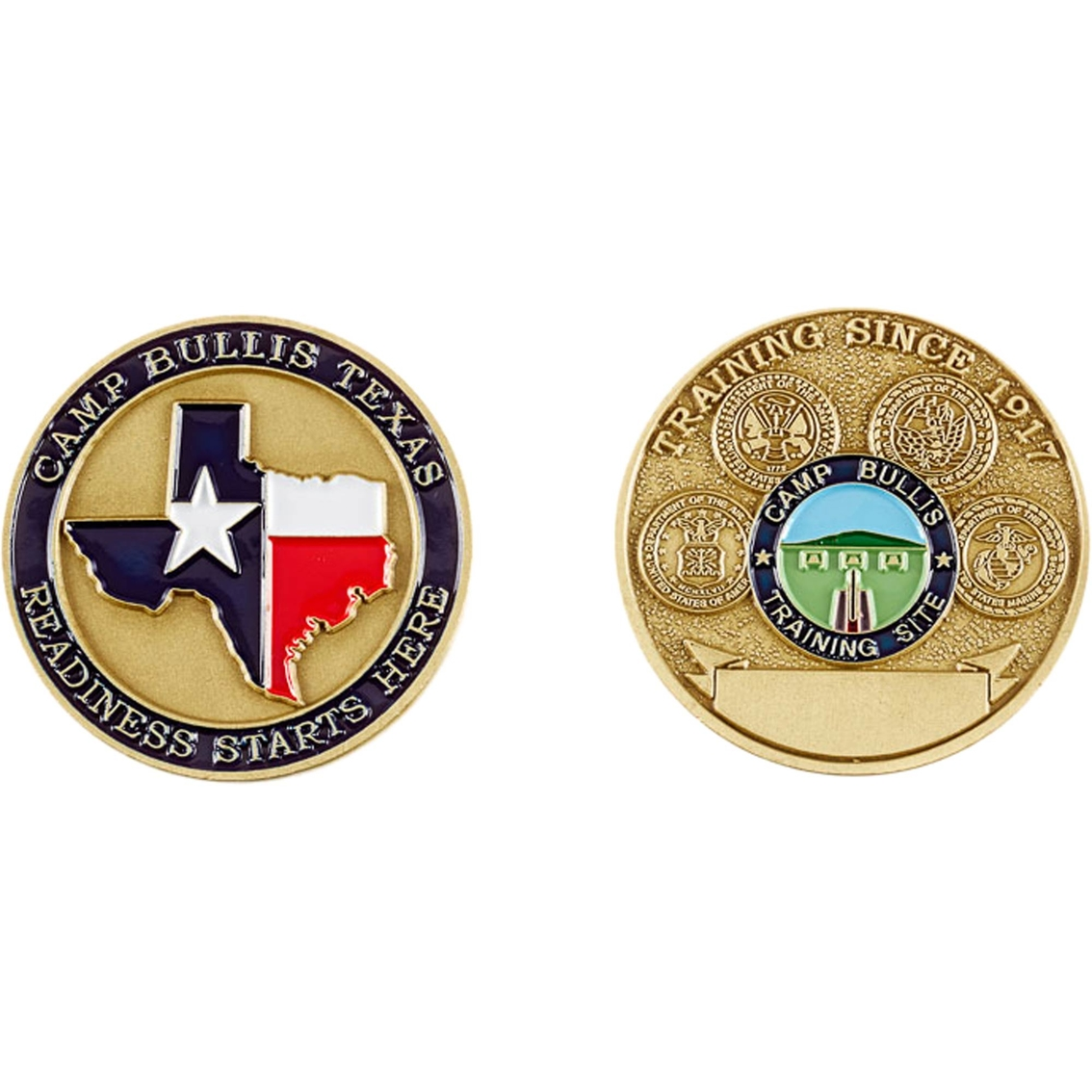 Challenge Coin Camp Bullis Coin | Coins & Cases | Gifts