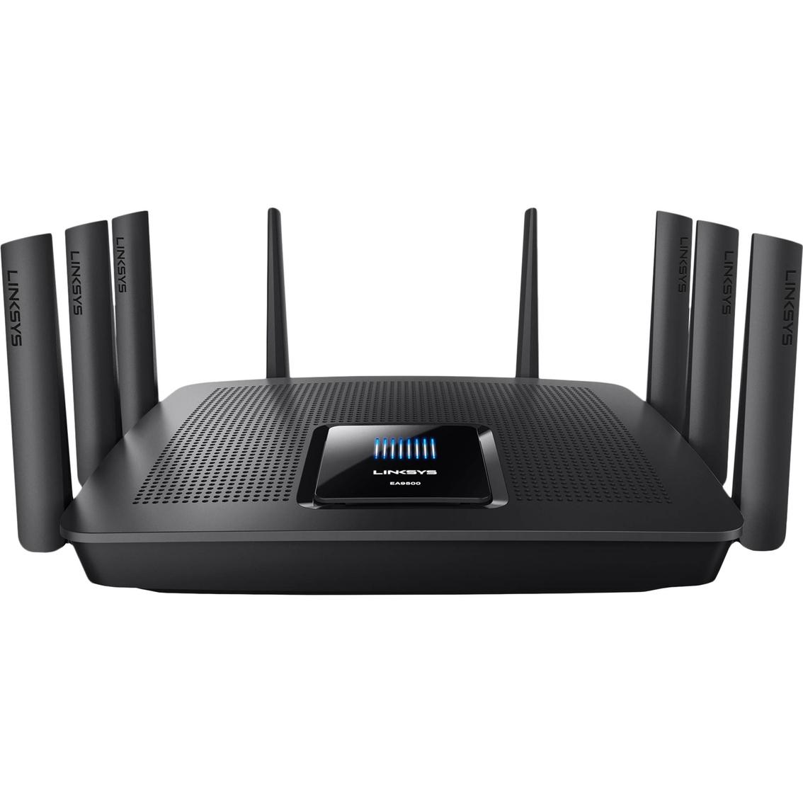 linksys ea9400 max stream ac5000 mu mimo gigabit tri band router