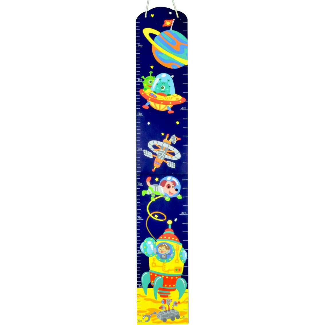 Fantasy fields outer space hand painted kids wooden growth chart fantasy fields outer space hand painted kids wooden growth chart geenschuldenfo Images