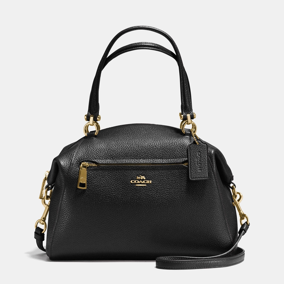 4755275bd0f3 ... promo code for coach prairie satchel in polished pebble leather c2cc2  604fa