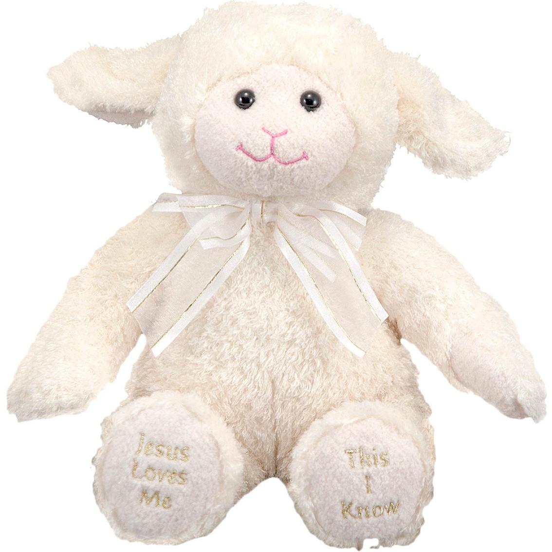 Melissa Doug Jesus Loves Me Lamb Plush Stuffed Toys Baby