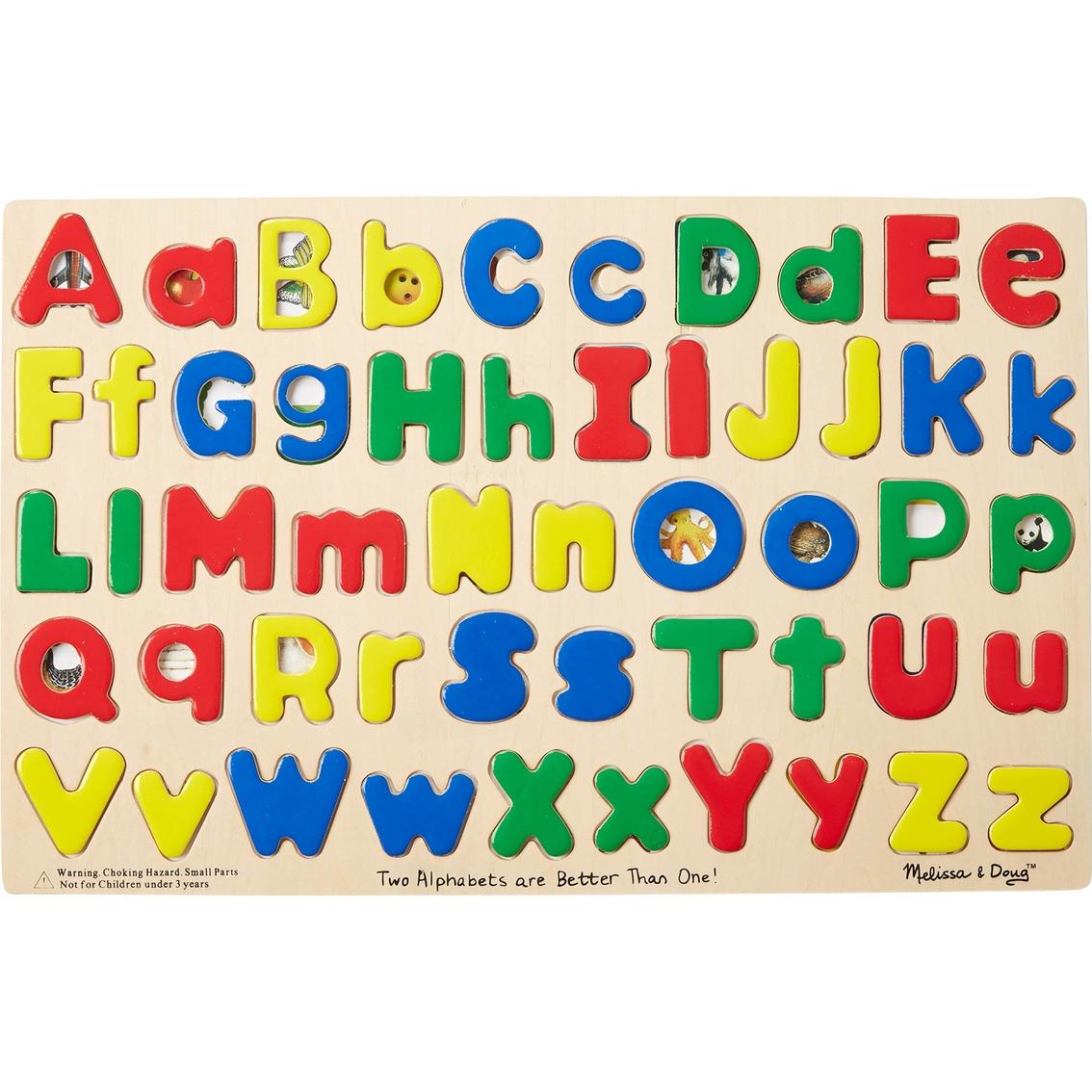 3dcf1e084524 Melissa   Doug Upper And Lowercase Alphabet Puzzle