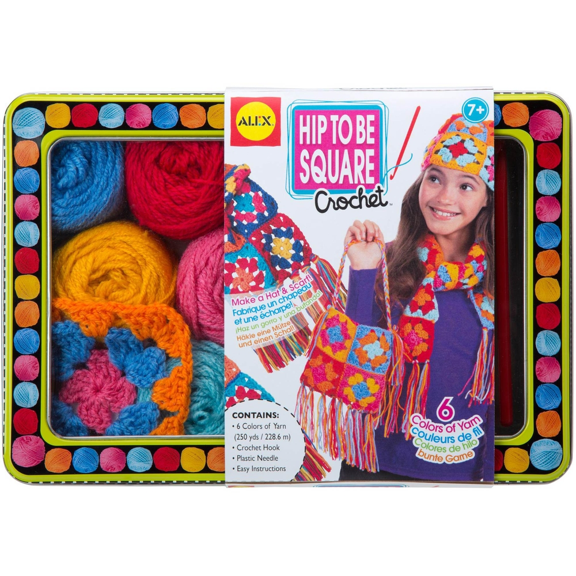 Alex Toys Craft Hip To Be Square Crochet Kit Kids Crafts Baby