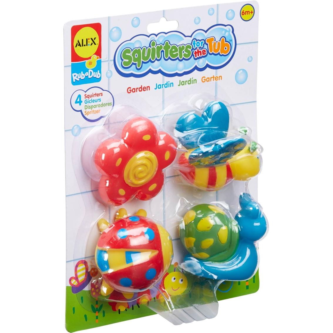 Alex Toys Rub A Dub Squirters For The Tub, Garden | Bath Toys | Baby ...