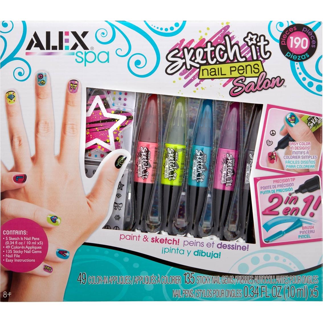 Alex Spa Sketch It Nail Pen Salon | Kids\' Crafts | Baby & Toys ...