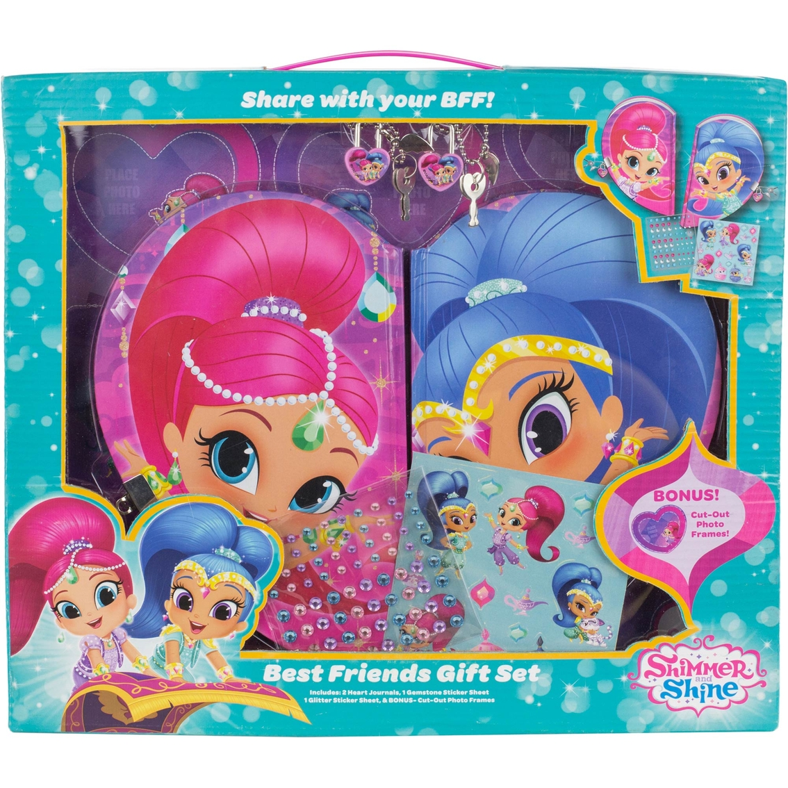 Nickelodeon Shimmer And Shine Best Friends Gift Set Kids Crafts