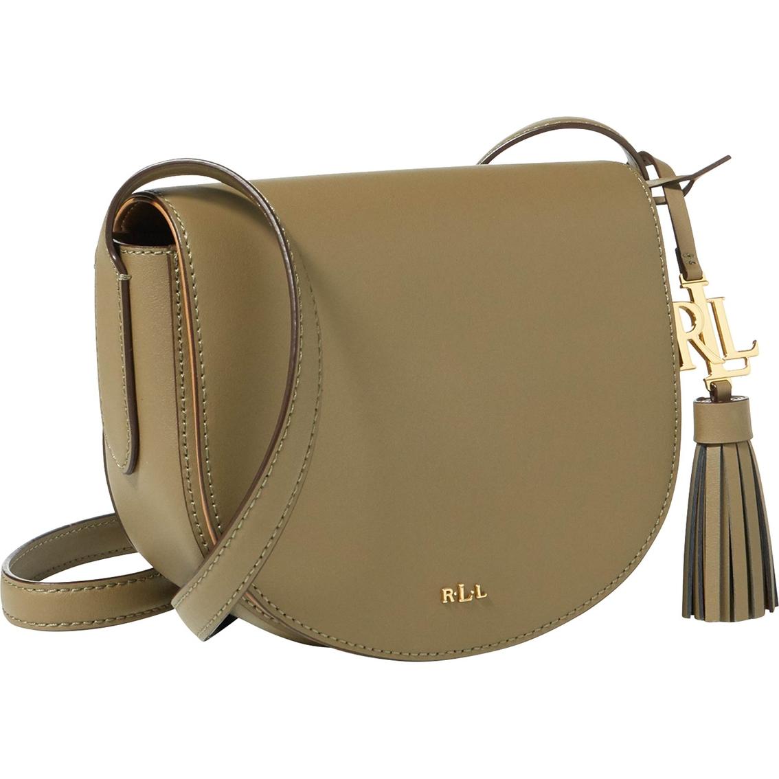 0f16d6e1fa Lauren Ralph Lauren Dryden Caley Saddle Bag Handbag