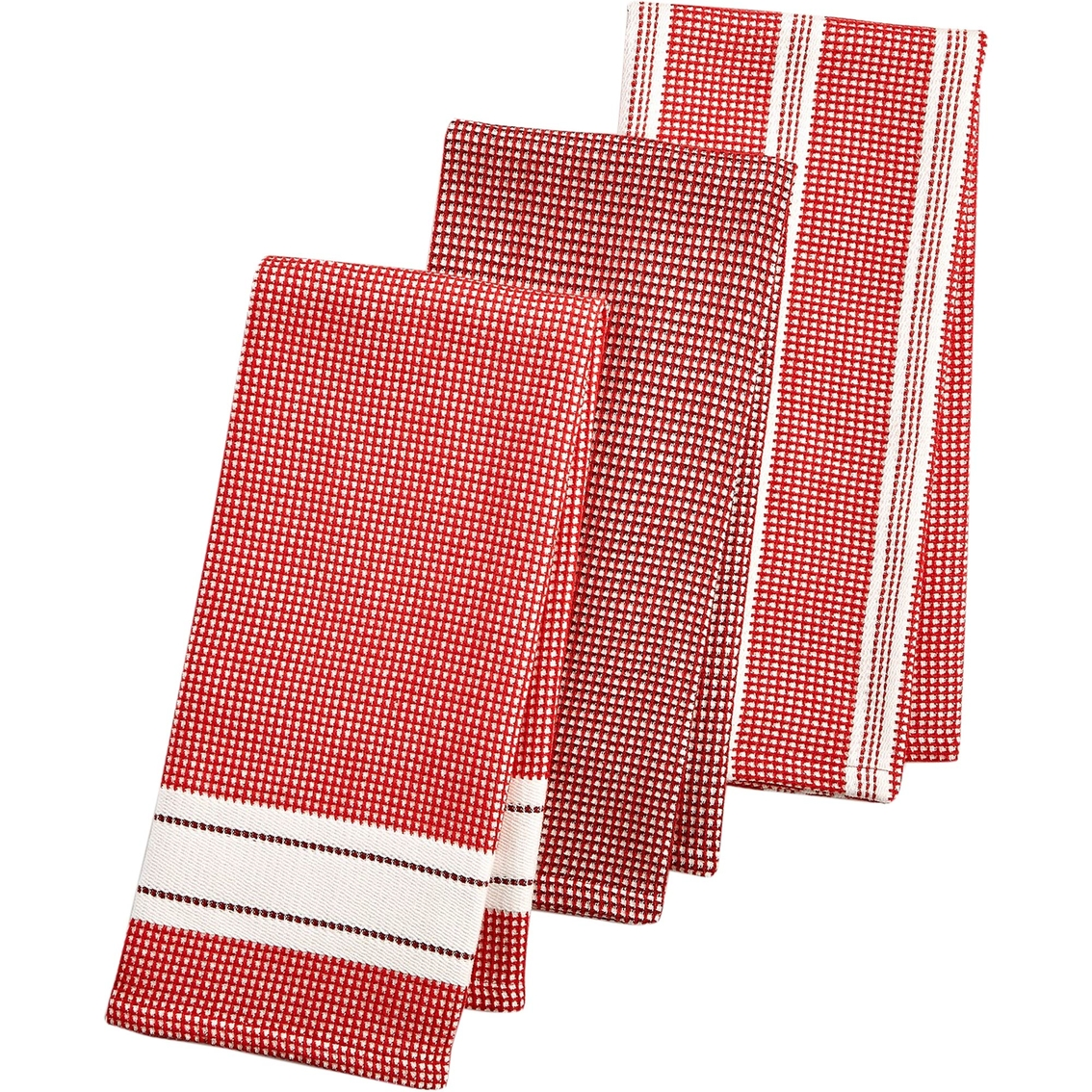 Martha Stewart Kitchen Towels: Martha Stewart Collection 3 Pc. Waffle Weave Kitchen Towel