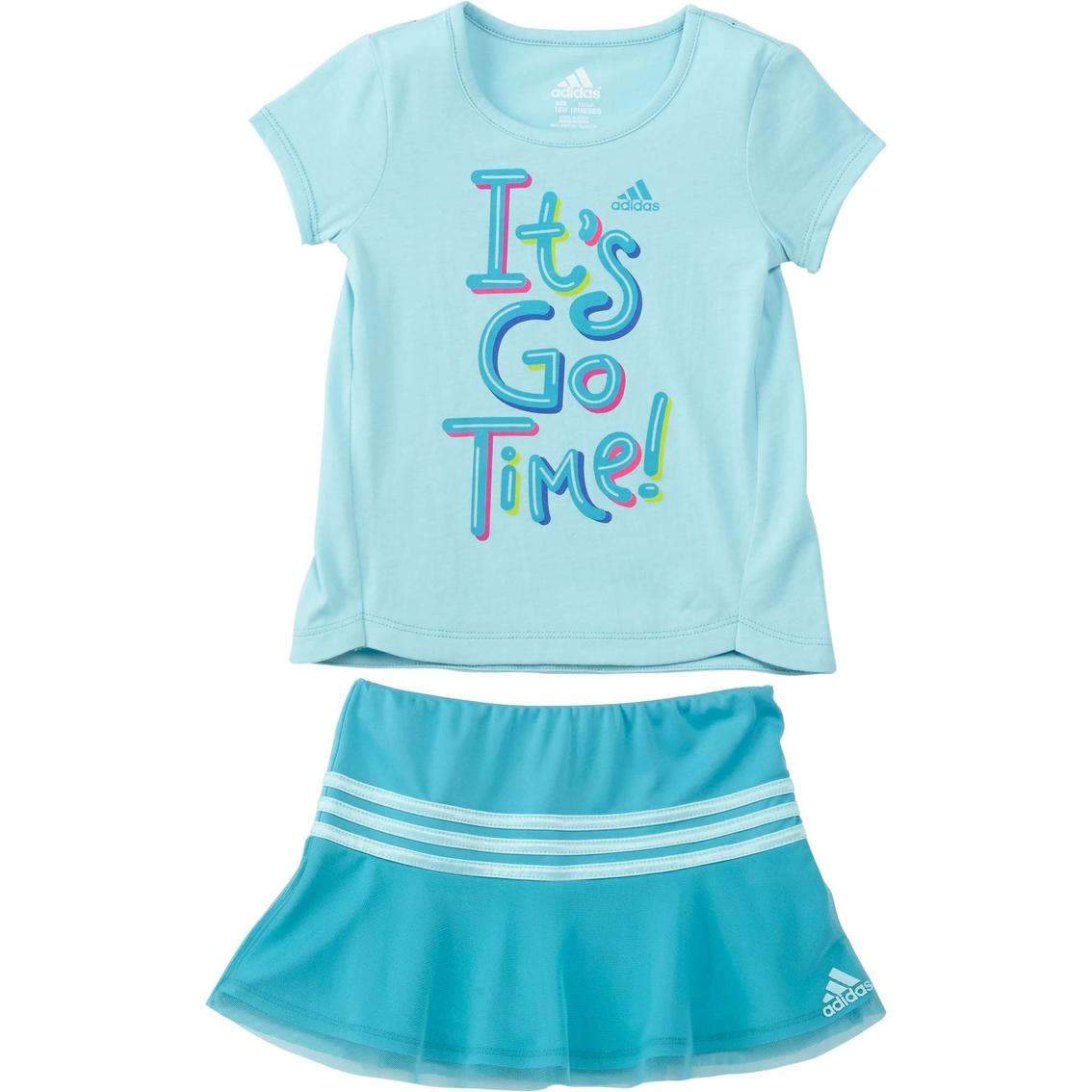 adidas Baby Girls Skort Set