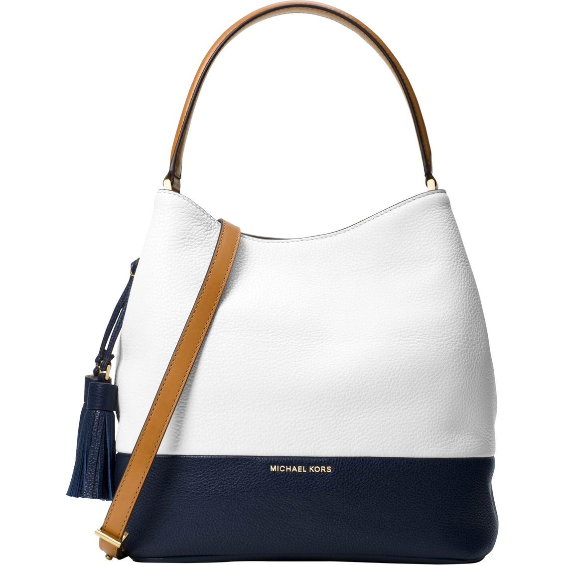 753b8ff3c31e95 Michael Kors Kip Large Leather Bucket Bag | Handbags | Shop The Exchange