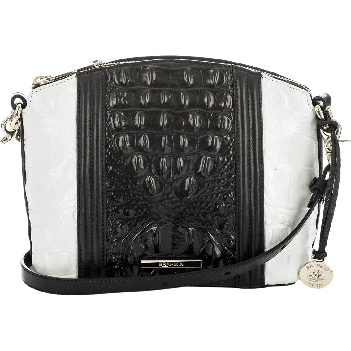 58663ceb92d2 Brahmin Mini Duxbury Crossbody Handbag Crane