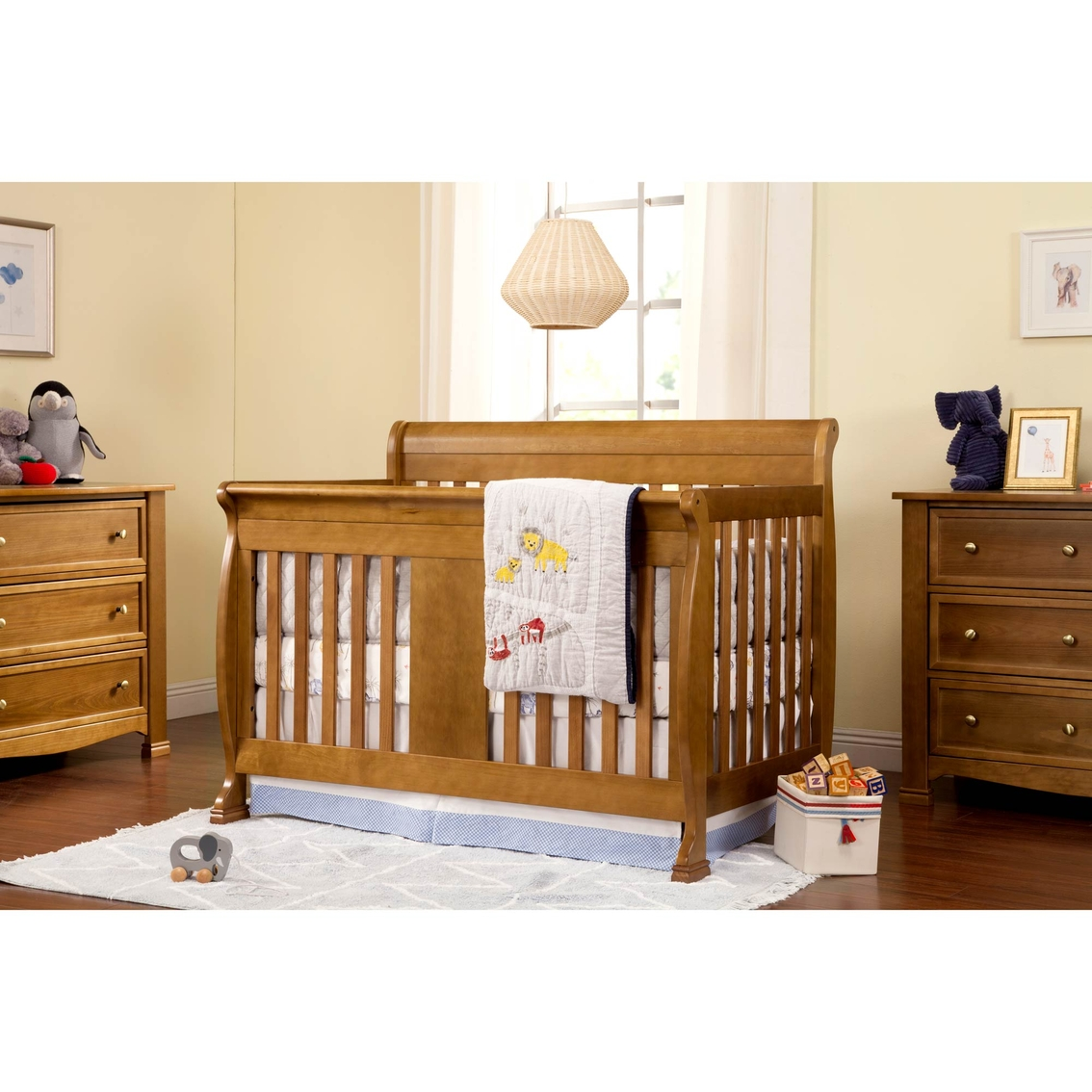 Davinci Porter 4 In 1 Convertible Crib With Toddler Bed Conversion